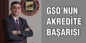 GSO'nun akredite başarısı