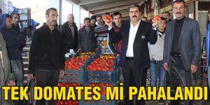 Tek domates mi pahalandı
