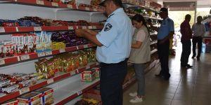 Nurdağı'nda marketlere sıkı takip