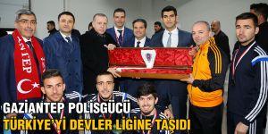 Gaziantep Polisgücü Türkiye'yi Devler Ligine Taşıdı