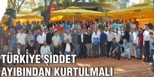 Türkiye şiddet ayıbından kurtulmalı