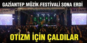 GAZİANTEP MÜZİK FESTİVALİ SONA ERDİ