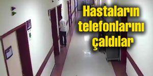 Ziyaretçi gibi gelip tedavi gören hastaların telefonu çaldılar