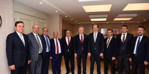 MÜSİAD'dan Gül'e ziyaret
