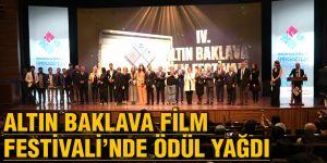 Altın Baklava Film Festivali'nde ödül yağdı