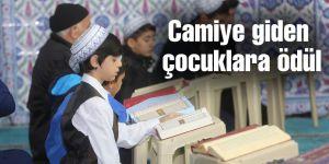 Camiye giden çocuklara ödül