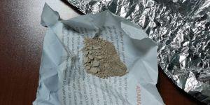 Şüpheli araçta uyuşturucu bulundu