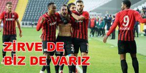ZİRVE DE BİZ DE VARIZ 1-0