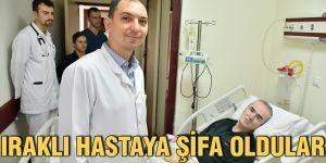 Iraklı hastaya şifa oldular