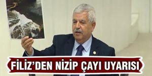 Filiz'den Nizip çayı uyarısı