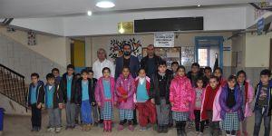 Öğrencilere kışlık giysi desteği