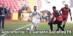Gençlerbirliği - Gazişehir Gaziantep