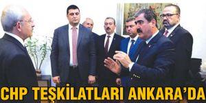 CHP teşkilatları Ankara'da