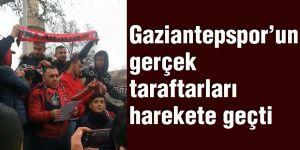 Gaziantepsporun gerçek taraftarları harekete geçti