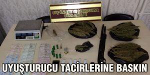 Uyuşturucu tacirlerine baskın