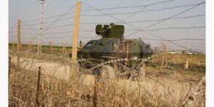 Suriye sınırında önlem