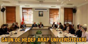 GAÜN'de hedef ARAP üniversiteleri