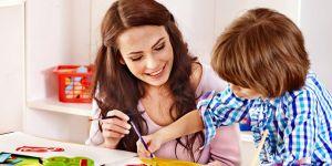 Oyun terapisi çocuğun korkularını gideriyor
