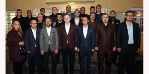 Gül'den Şanlıder'e ziyaret