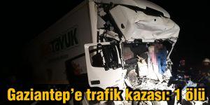 Gaziantep'e trafik kazası: 1 ölü