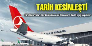 Berlin'den Adana ve Gaziantep'e direkt uçuş başlıyor