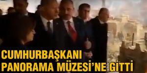 Cumhurbaşkanı Panorama Müzesi'ne gitti