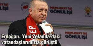 Erdoğan, Yeni Zelanda'daki vatandaşlarımızla görüştü