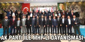 AK Parti ile MHP'li dayanışması