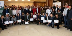 Öğrencilere sertifika