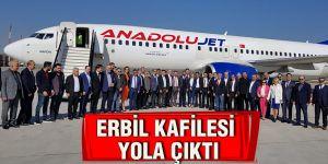 Erbil kafilesi yola çıktı