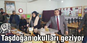 Taşdoğan okulları geziyor