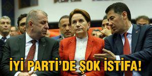 İYİ Parti'de şok istifa!