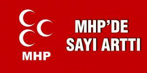 MHP'de sayı arttı
