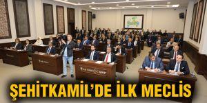 Şehitkamil'de ilk meclis