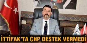 İttifak'ta CHP destek vermedi
