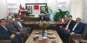 Başkan Kavak'a ziyaret