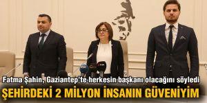Fatma Şahin, Gaziantep'te herkesin başkanı olacağını söyledi