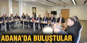 Adana'da buluştular