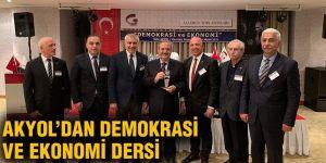 Akyol'dan demokrasi ve ekonomi dersi