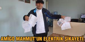 Amigo Mahmut'un elektrik şikayeti