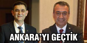 Ankara'yı geçtik