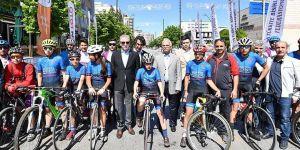 Vali Gül Bisiklet turu startını verdi