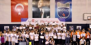 Sanko'da alkışlanan turnuva