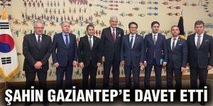 Şahin Gaziantep'e davet etti