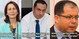 Hakan Tanrıöver Gazi Kültür Başkanı oldu