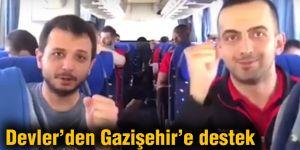 Devler'den Gazişehir'e destek