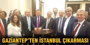 Gaziantep'ten İstanbul çıkarması