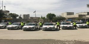 Cerablus polisine araç desteği