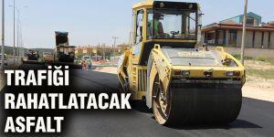 Trafiği rahatlatacak asfalt