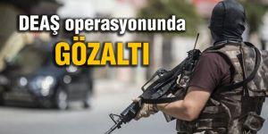 Operasyonda, 6 şüpheli gözaltına alındı